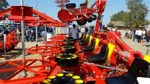 Trium with Hydraulic Fold at World Ag Expo
